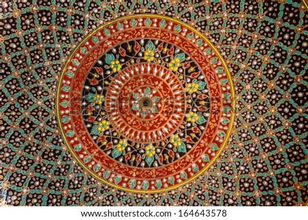 Decorative Art of Thai  - stock photo