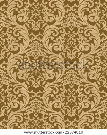 Decorative brown renaissance background