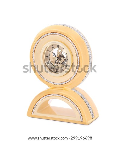 decorative clock - stock photo