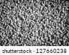 decorative crushed grey gravel texture - pattern background - stock photo