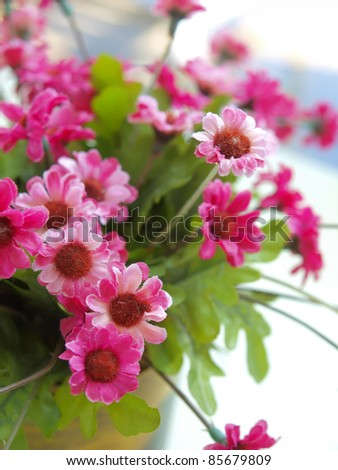 Decorative flower - stock photo