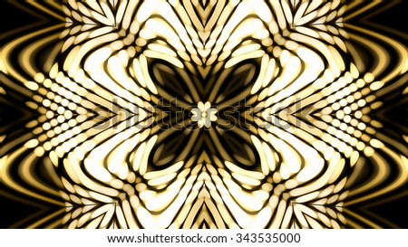 Decorative glassy background