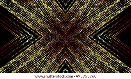Decorative golden background