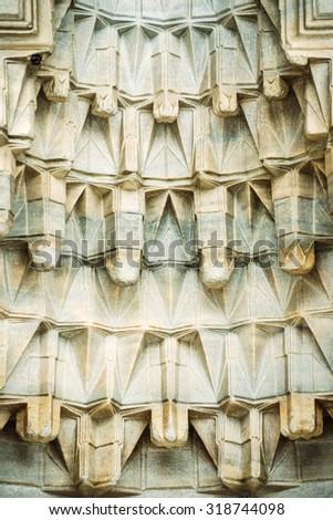 Decorative Islamic Art Texture Background - stock photo