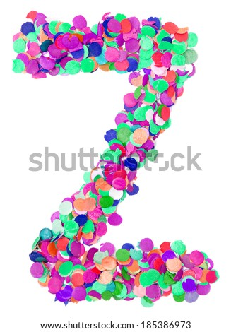 decorative letter Z