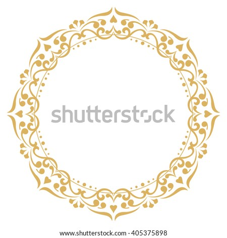 Round glamour background stock vector 115643497 shutterstock for Border lace glam