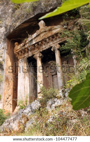 Decorative Lycian Tomb