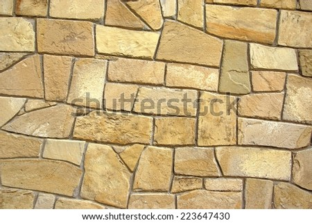 Decorative Natural Stone Pattern.  Background and Texture for text or image - stock photo