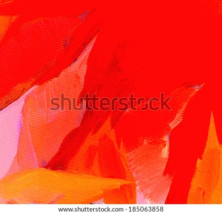 decorative painting for interior, background - stock photo