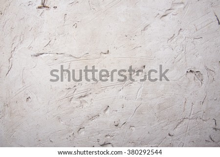 Decorative plaster effect on wal.Background