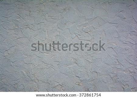 Decorative Plaster Walls. Decorative Exterior Decoration. Old Fence.  Smears. Texture. Background
