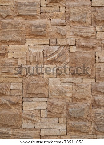 Decorative sandstone texture