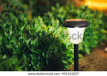 Garden Lantern Stock Photos Royalty Free Images Vectors
