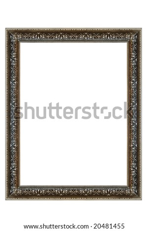 Decorative Square Silver Frame