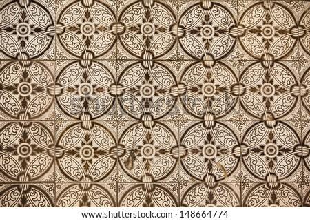 decorative tiles - stock photo