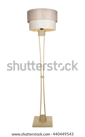 DECORATIVE TRIPOD STANDING LIGHT / FLOOR LAMP / LAMPSHADE