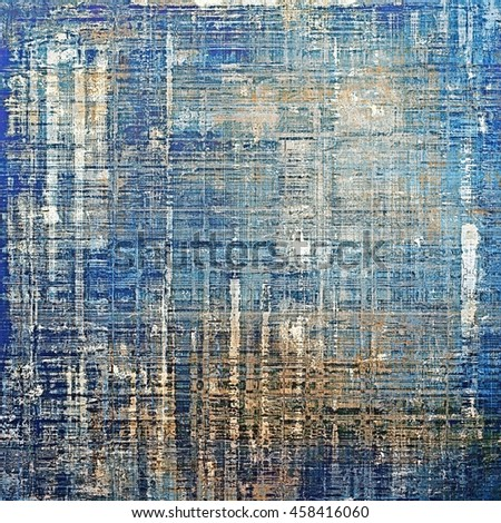 Decorative vintage texture or creative grunge background with different color patterns: yellow (beige); brown; gray; blue; cyan; white