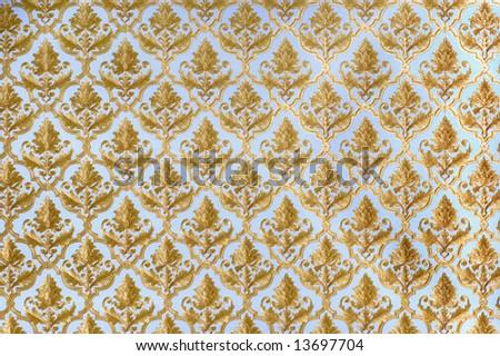 Decorative wallpaper pattern - stock photo