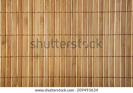 decorative  wooden mat close up ,suitable for background - stock photo