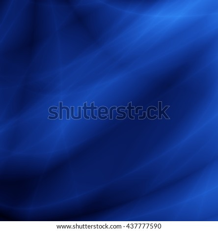 Deep blue wallpaper water abstract smooth background - stock photo