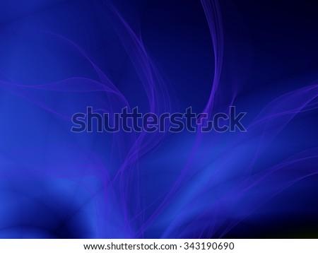 Deep blue wallpaper water wallpaper design - stock photo