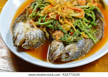 Fish head stock images royalty free images vectors for Fish head soup