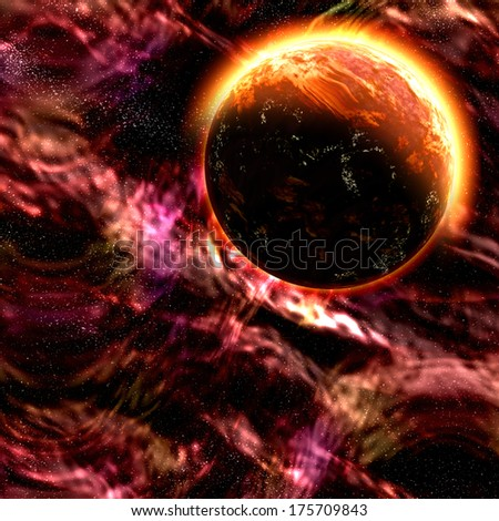 deep outer space background