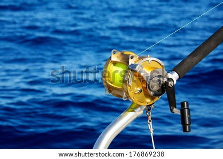 Deep sea fishing stock photos images pictures for Tuna fishing reels