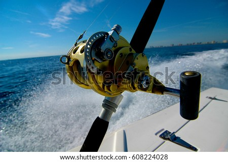 Deep sea stock images royalty free images vectors for Deep sea fishing rod and reel