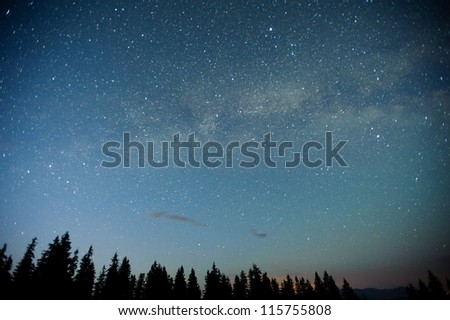 deep sky astrophopo - stock photo