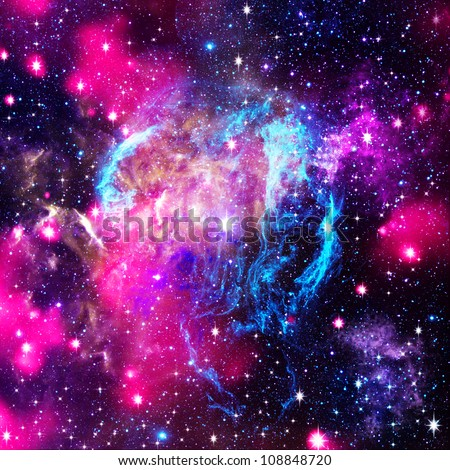Deep space. Abstract natural backgrounds - stock photo