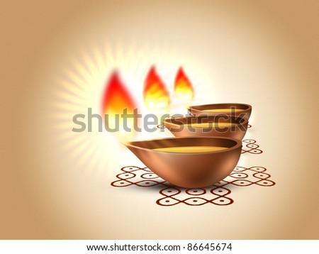 Deepavali - stock photo