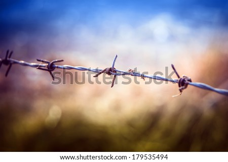 Defence in the revolution - stock photo