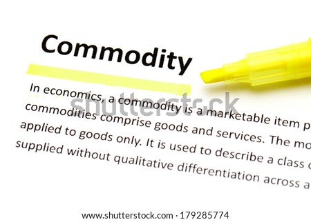 Definition of commodity