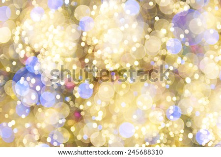 Defocused abstract bokeh background - stock photo