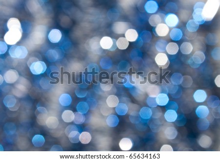 Defocused abstract christmas background - stock photo
