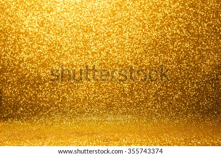 Defocused abstract holidays lights on background - stock photo