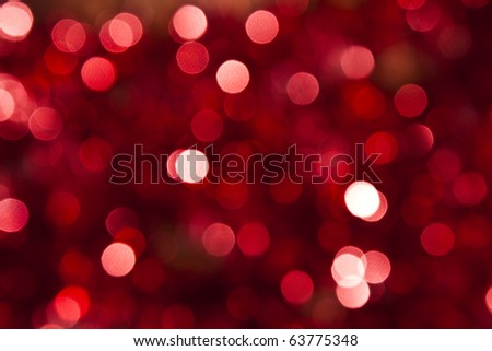 Defocused abstract red background - stock photo