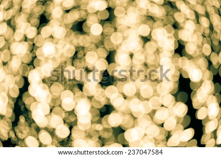 Defocused abstract texture christmas background -- light bokeh