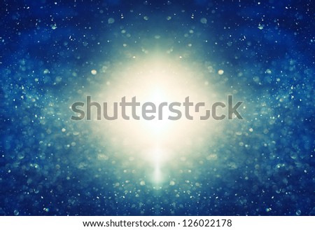 defocused background blue color - stock photo