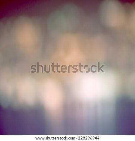 Defocused blur bokeh - stock photo