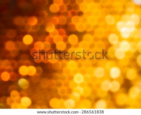 Defocused bokeh background from bee hive