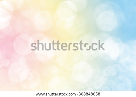 defocused bokeh light background