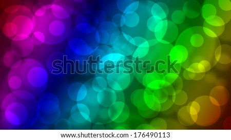 Defocused glittering lights background./Bokeh