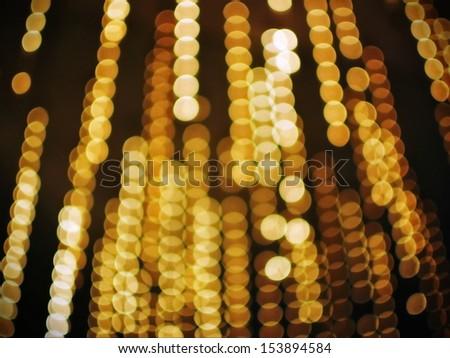 Defocused Lights Background - stock photo