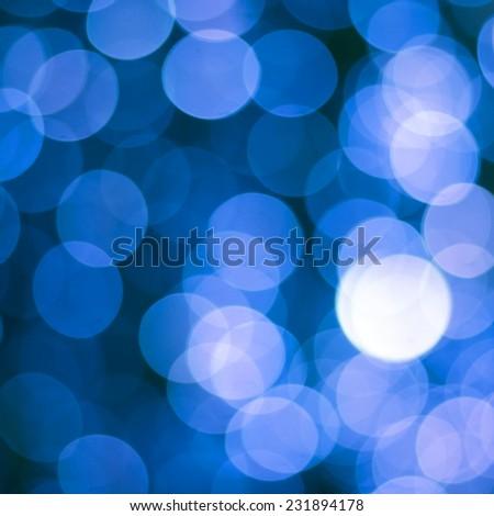 defocused lights bokeh background - stock photo