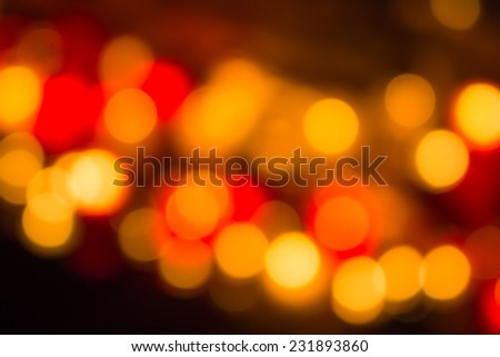 Defocused lights that can be used for all kind of background