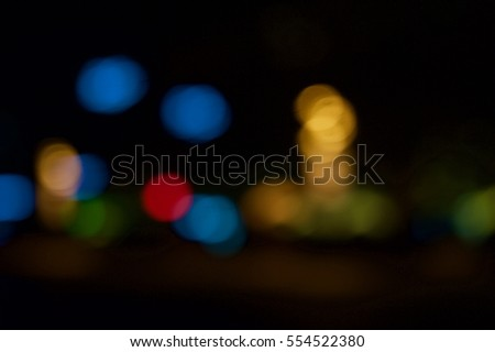 Defocused urban abstract texture background