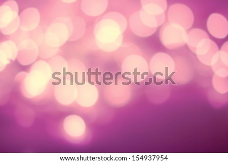 Defocused Vintage shiny lights Christmas Bokeh background like splashes. Christmas blur background with glowing bokeh. Saint Valentines Day Background. - stock photo