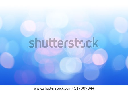 defocused with blue light background - stock photo